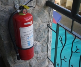 IB Fire extinguisher