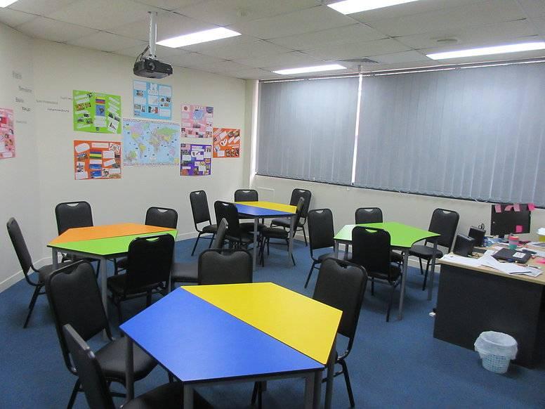 教室分成這樣方便小組討論